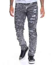 Slim - Valor Ripped Biker Jean