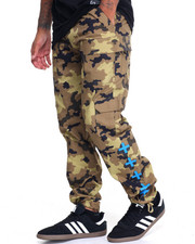 Men - TACTICAL CAMO TWILL PANTS