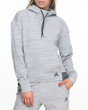 Hoodies - MELANGE FLEECE HOODY