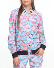 Women - ADIGIRL PRINTED TRACK JACKET