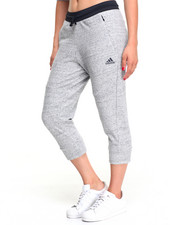 Adidas - MELANGE FLEECE 3/4 PANTS