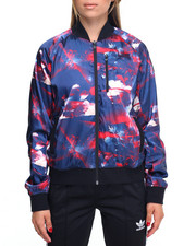 Adidas - FLOWER BOMBER JACKET