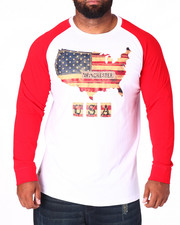Men - Glory Americana Raglan (B&T)