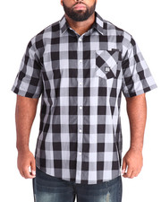 Parish - Gingham S/S Button-Down (B&T)