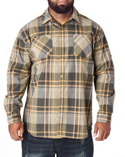 Akademiks - Grand Plaid L/S Button-Down (B&T)