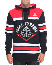 Hoodies - B P Logo L/S Hooded Hockey Jersey
