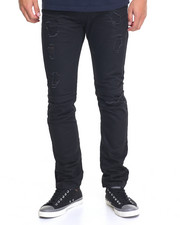 Slim - Slim - Fit Constructed Denim Jeans