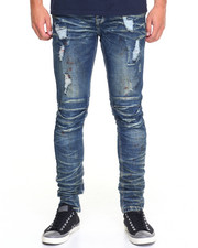 Jeans & Pants - Slim - Fit Constructed Denim Jeans