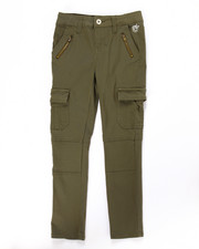 Sizes 7-16 - Big Kids - SKINNY CARGO PANTS (7-16)