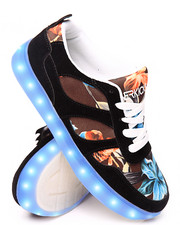 Sneakers - Venice Black LED Sneaker