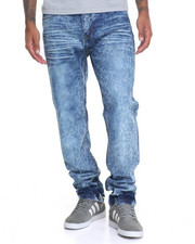 Jeans & Pants - Faded Washed Denim Jeans