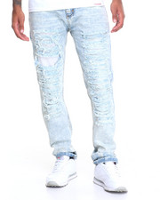 Jeans & Pants - Rip - And - Repair Acid Washed