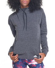 Women - MELANGE FLEECE HOODY