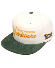 Hats - Hardware Script Snapback Cap
