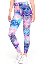 Fashion Lab - Pastel Water Color Printed Legging