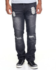 Parish - Moto Denim Jeans