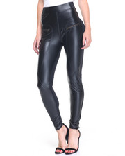 Basic Essentials - Vegan Leather Leggings