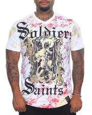 Men - Soldiers & Saints Foil S/S Tee