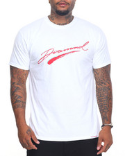 Men - Brush Script Tee