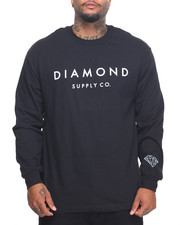 Diamond Supply Co - Stone Cut L/S Tee