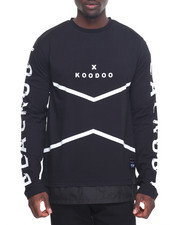 Koodoo - Sporty Mood L/S Fishtail Crew