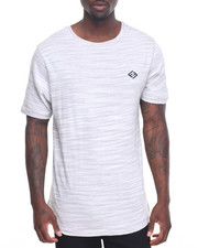 Men - Heathered T-Shirt w/ Fishtail