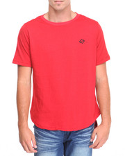 Men - SS T-Shirt w Fishtail
