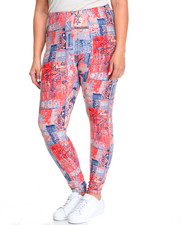 Fashion Lab - Desert Print Legging (multi)