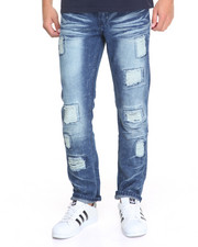 Men - Rip Tear Denim Jeans