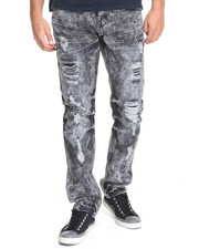 Men - Vintage Paint Splatter Jean