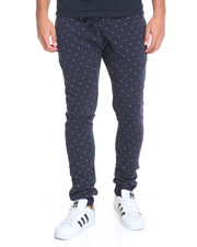 Pants - Dot Print Poly Fleece Pants