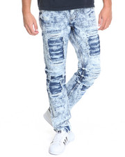 Buyers Picks - Distressed Acid Wash Jeans