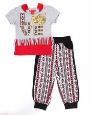 Sets - 2 PC AZTEC JOGGER SET (2T-4T)