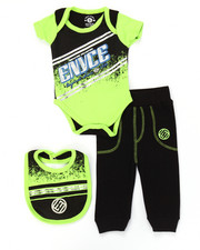 Enyce - 3 PC CREEPER PANTS SET (NEWBORN)