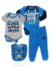 Enyce - 4 PC CREEPER PANTS SET (NEWBORN)