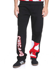 Pants - Chicago Patched Fleece Pants