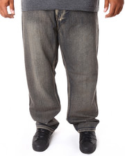 Men - 5 - Pocket Stone Washed Denim Jeans