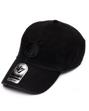 Hats - Golden State Warriors Black on Black Clean Up 47 Strapback Cap
