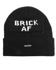 Hats - BRICK AF BEANIE