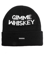 Men - GIMME WHISKEY BEANIE