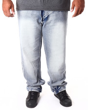 Men - Washed Denim Jeans (B&T)