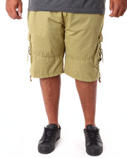 Basic Essentials - Garment Dyed Fancy Cargo Shorts (B&T)