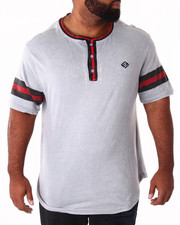 Men - Printed Stripe Henley (B&T)