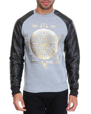 Men - XSwitch Gold - Print Crewneck Sweatshirt