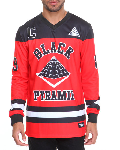Buy O H B Hockey - Style Jersey Men's Shirts from Black ...