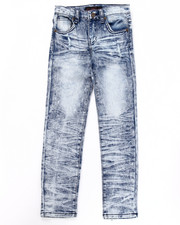 Sizes 7-16 - Big Kids - CRINKLE WASH JEANS (7-16)