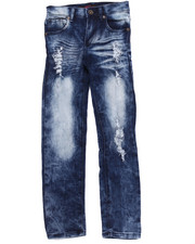 La Galleria - DISTRESSED SKINNY JEANS (7-16)