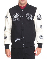 Outerwear - QUALITY GOODS VARSITY JACKET