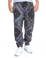 Men - Imperious Paisley Fleece Joggers