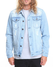 Men - LAGUNA DISTRESSED DENIM JACKET